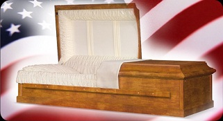 Wood- PLUS Size Caskets Casket