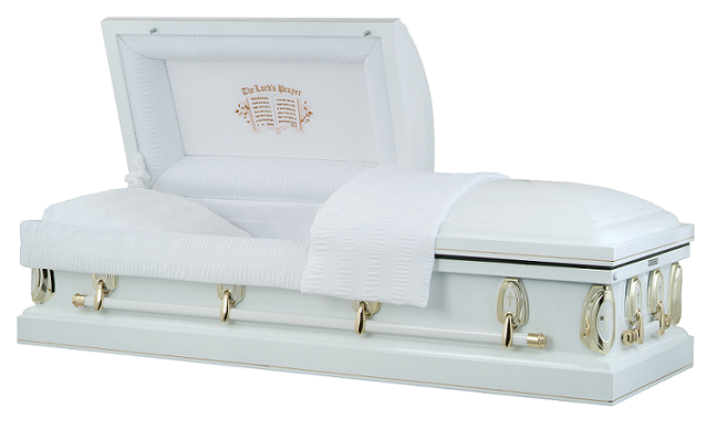 Casket: Heavenly Devotion - Lords Prayer Casket