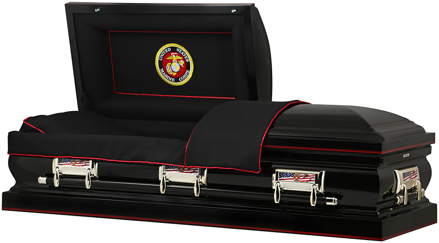 Picture of MARINE CORP US STEEL CASKET Casket