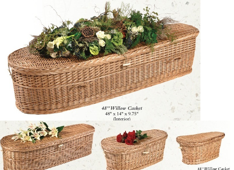 Picture of Willow Infant Nature Casket Casket