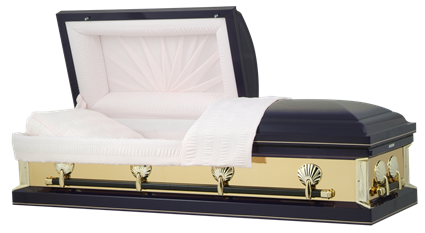 Casket: Purple Haze Gold Mirror Casket