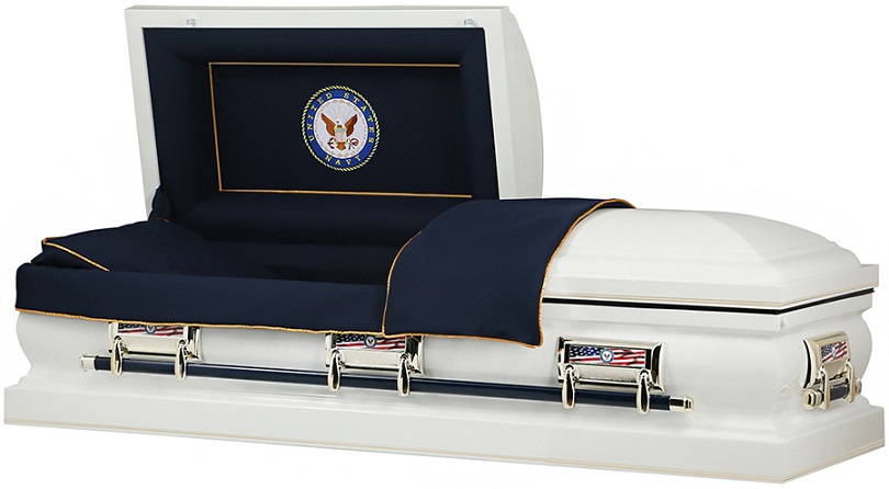 Picture of US NAVY American Steel Casket Casket