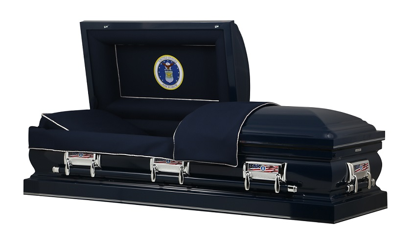 Picture of AIR FORCE HONOR STEEL CASKET Casket