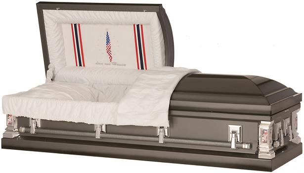 Picture of Love and Honor Military Casket Casket