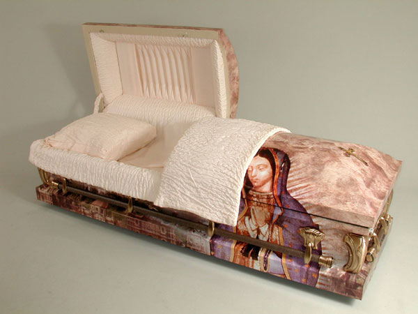 Lady of Guadalupe - Art Casket