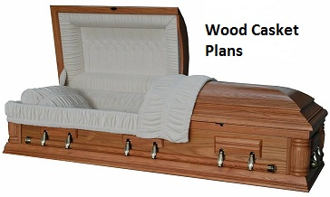 Casket: Casket Building Plans with a BONUS BOOK!